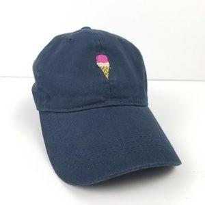 David & Young Baseball Hat Ice Cream Cone New!